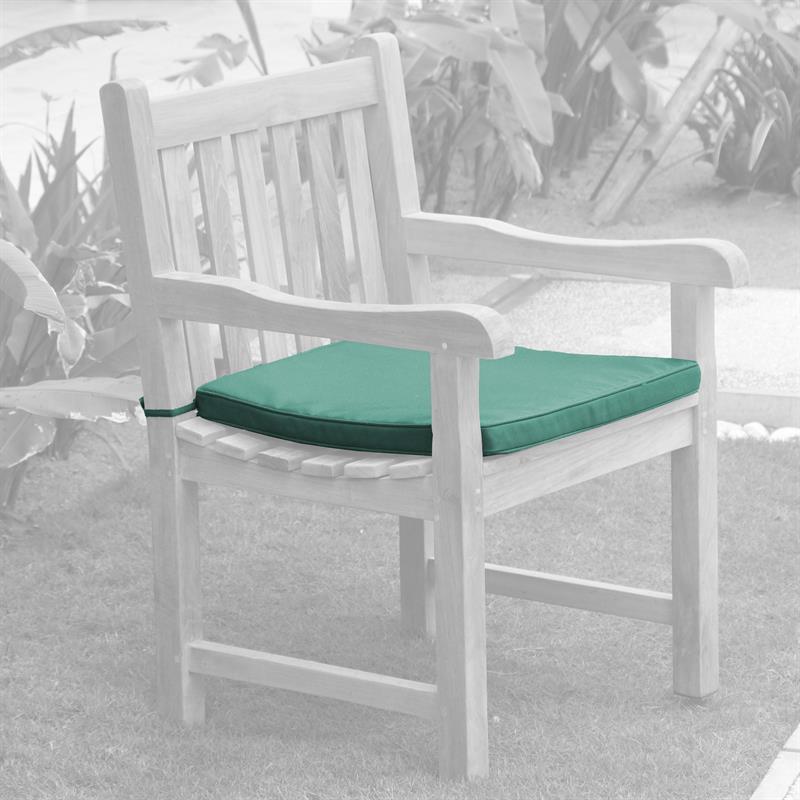sitzkissen 58x50 cm mit ausschnitt f r die klassischen florida und royal gartenst hle. Black Bedroom Furniture Sets. Home Design Ideas