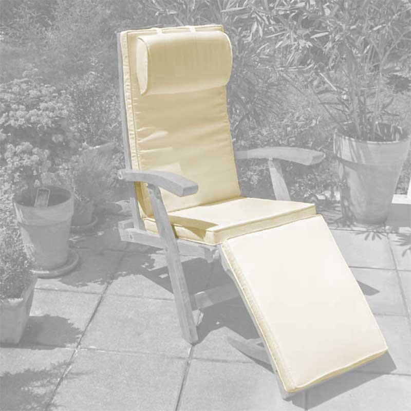 deckchairauflage f r den elegance deckchair 183x46 cm sunproof. Black Bedroom Furniture Sets. Home Design Ideas