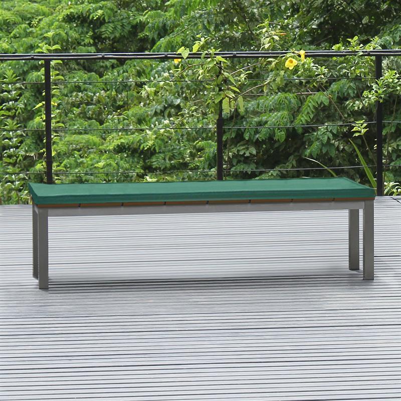 bankauflage f r bank ohne r ckenlehne 180x45 cm nagata. Black Bedroom Furniture Sets. Home Design Ideas