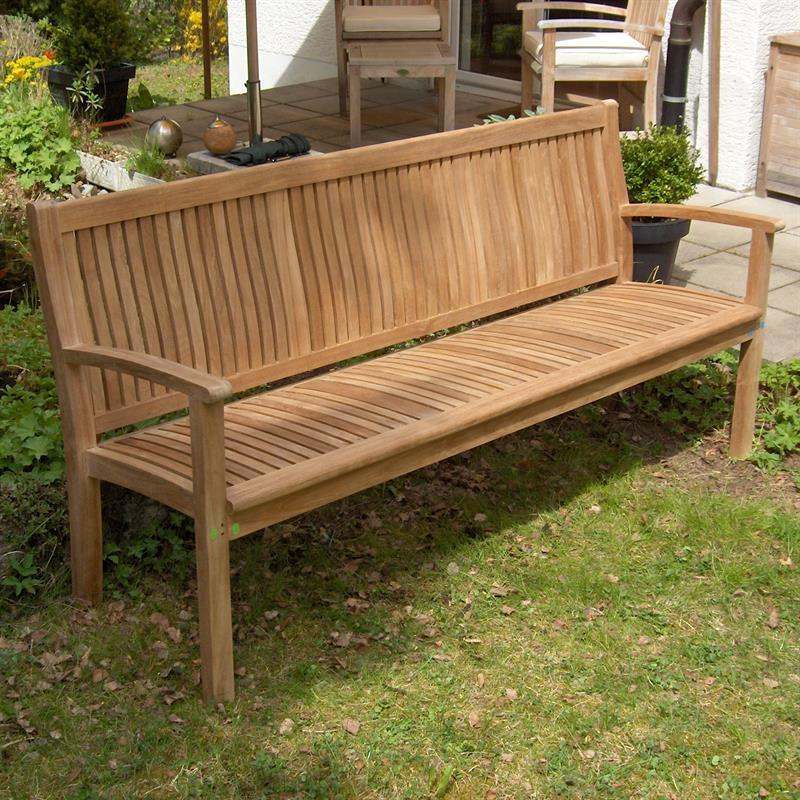 madison gartenbank 180 cm teak On gartenbank teak