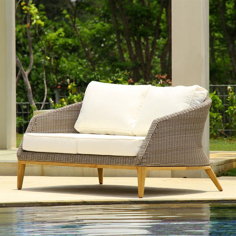 auflagenset f r grace 2 sitzer sofa sitz u r ckenkissen. Black Bedroom Furniture Sets. Home Design Ideas