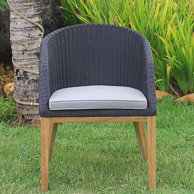 Grace sitzkissen esstischstuhl mit armlehne nagata standard for Esstischstuhl armlehne