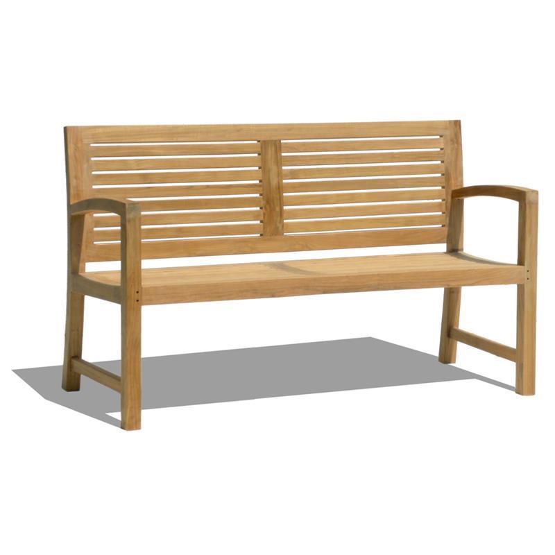 trent gartenbank 150 cm teak. Black Bedroom Furniture Sets. Home Design Ideas