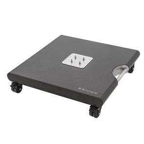Knirps Granitplatte 140 kg für Knirps Pendelschirm hochglanzpoliert mit versenkbaren Edelstahlgriffen