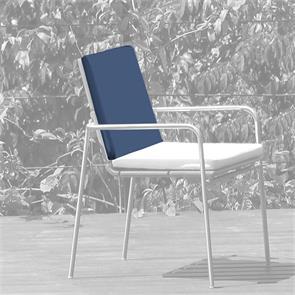 Rückenkissen Stapelstuhl 45x44 cm Sunproof für Fides
