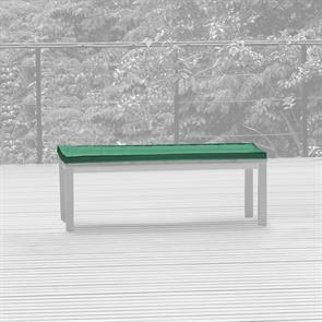 Bankauflage für Bank ohne Rückenlehne 130x45 cm Nagata