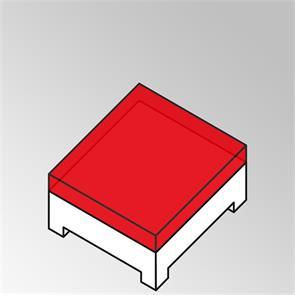 FLEXILounge Polster für Beistelltisch Nagata 95x95 13 cm dick Nagata