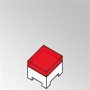 FLEXILounge Polster für Beistelltisch 55x55 cm 13 cm dick Nagata