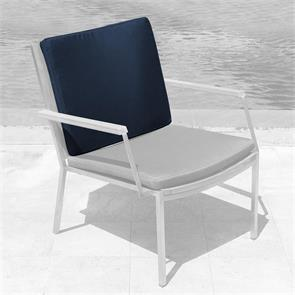 Tessin Rückenkissen Loungestuhl 59x45x4cm SunProof
