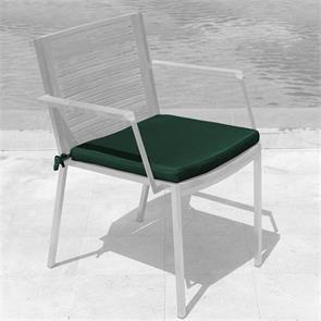 Tessin Sitzkissen Stapelstuhl mit u. ohne Armlehne 45x45x4cm Nagata