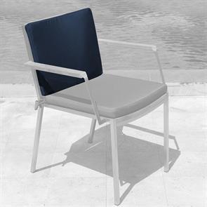 Tessin Rückenkissen Stapelstuhl mit/ohne Armlehne 46x35x4cm SunProof