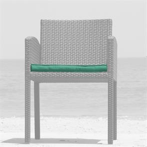 Sitzkissen Lyon Stuhl mit Armlehne 45 x 48 cm Nagata