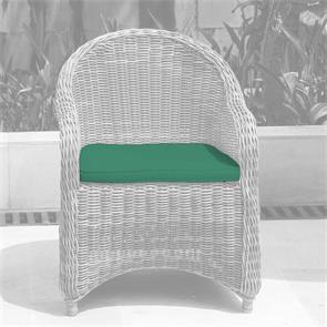 Sitzkissen für Monaco Armlehnstuhl mit runder oder eckiger  Rückenlehne - Nagata
