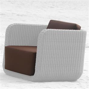Auflagenset Kubu Lounge Sessel Nagata