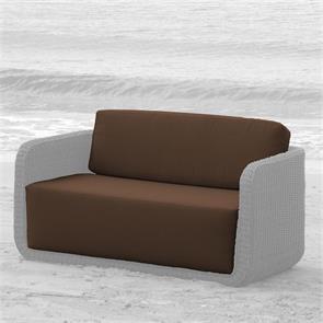 Auflagenset Kubu Lounge Sofa 2-Sitzer Nagata