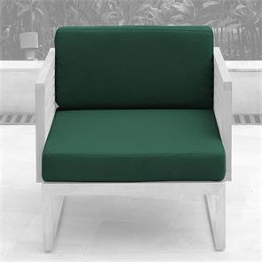 Tessin Polsterset Loungemodul Mittelmodul/Sessel 12 cm dick Nagata 2-teilig