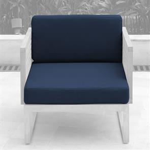 Tessin Polsterset Loungemodul Mittelmodul/Sessel 12 cm dick SunProof 2-teilig