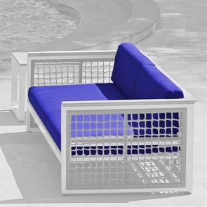 Bowline Polsterset 2-Sitzer  184 x 84/30 x 12 cm m.Quick Dry Foam  SunProof  3-teilig