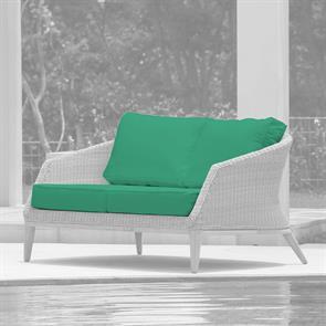 Auflagenset für Grace 2-Sitzer Sofa Sitz- u. Rückenkissen Nagata 4-teilig