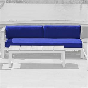 Bowline Polsterset Ecksitz XL re.  189x84/30x12 cm Sitz- und Rückenkissen  SunProof  3-teilig