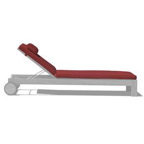 Liegenauflage für Nivelle Liege 200x65x5,5 cm Sunproof