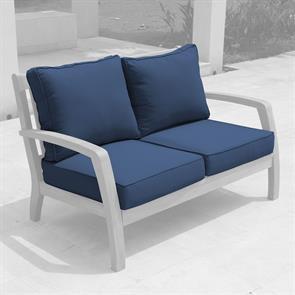 Corona Polsterset Sofa 2 Sitzer 4-teilig SunProof Sitz- und Rückenkissen