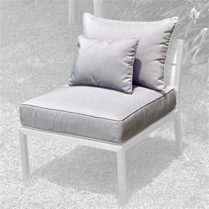 Makan Polsterset Lounge  Mittelmodul SunProof 3-tlg.(1 Sitz-,1 großes+ 1 kleines Rückenpolster)