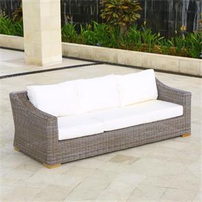 Monaco Sofa 3-Sitzer Kubu Faser
