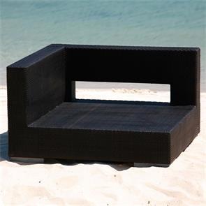 Oasis Lounge Seitensitz mit Armlehne rechts Geflecht Lounge