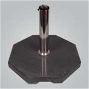 Schirmständer Granit »Black Oktagon« 50x50x6