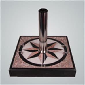 Schirmständer Granit »Purple Star« 47x47x7