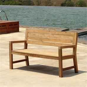 Dusun Bank 154 cm 154 x 62,5 x 89,5 cm Recycling Teak