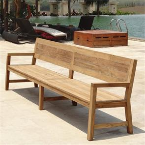 Dusun Bank 300 cm Recycling Teak
