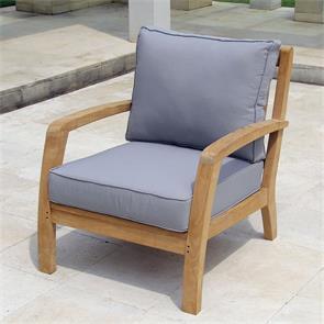Corona Sessel 1 Sitzer  72 x 76,5 x 82 cm Teak