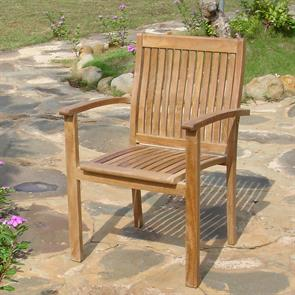 Madison Stapelstuhl Teak Grade A