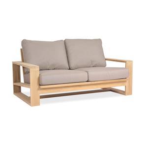 Trent Lounge Sofa 2-Sitzer - 89 x 155 x 71 cm -  Zertifiziertes Teakholz GRADE A