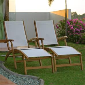Rivera Deckchair 2er Set