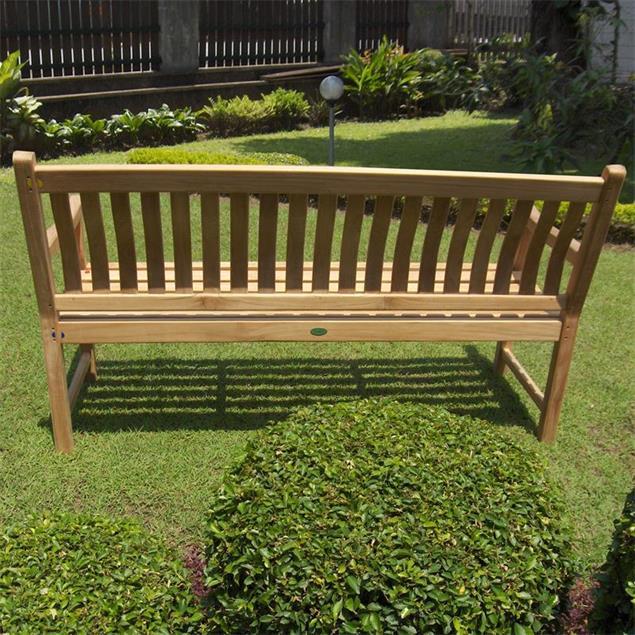 Florida Classic Gartenbank 180 cm - Zertifiziertes Teakholz GRADE A