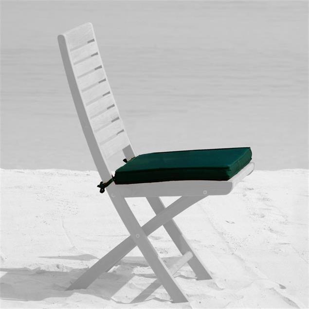 Sitzkissen 45 x 40 cm für Comforteck, Denver, Trent Faltstuhl Nagata