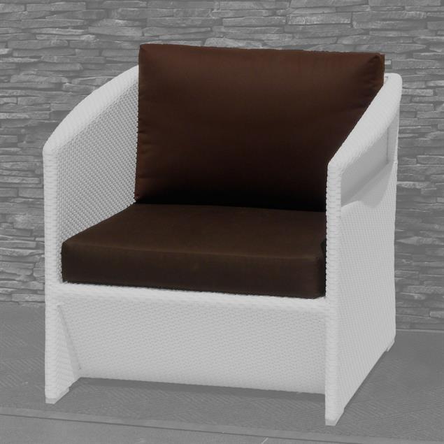 Auflagenset Sefid Lounge Sessel 2-teilig Sunproof