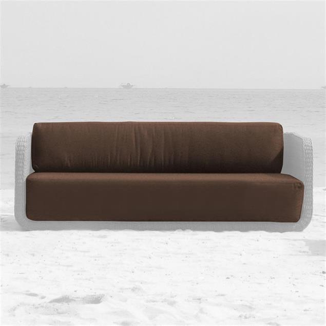 Auflagenset Kubu Lounge Sofa 3-Sitzer Nagata