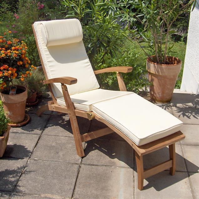 Deckchairauflage für den Elegance Deckchair 183x46 cm Nagata