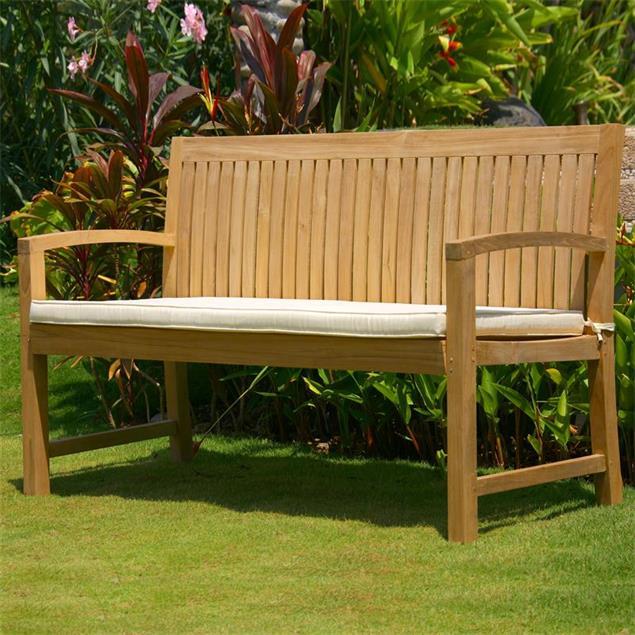 Elegance Gartenbank 150 cm - Zertifiziertes Teakholz GRADE A