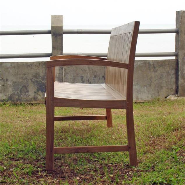 Elegance Gartenbank 180 cm - Zertifiziertes Teakholz GRADE A
