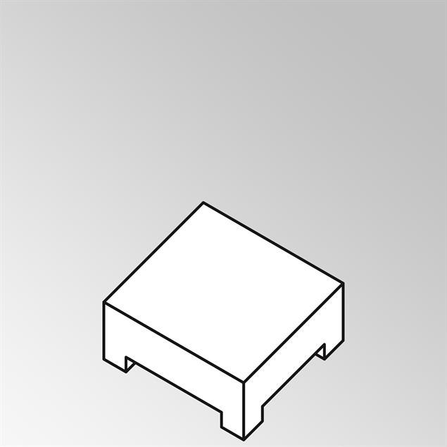 FLEXI Lounge Beistelltisch 82x69x29 cm Geflecht Lounge