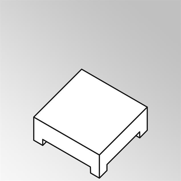 FLEXILounge Polster für Beistelltisch 95x82 13 cm dick Sunproof