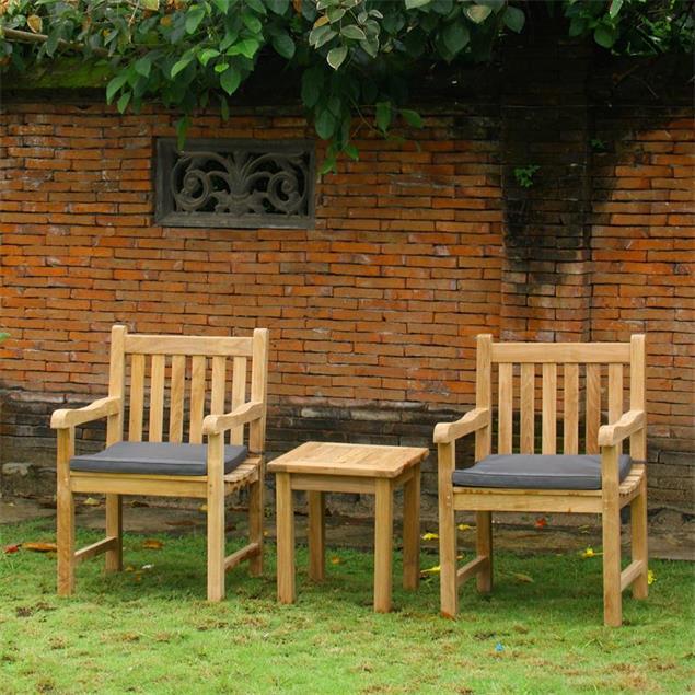 Royal Classic Gartenstuhl - Zertifiziertes Teakholz GRADE A