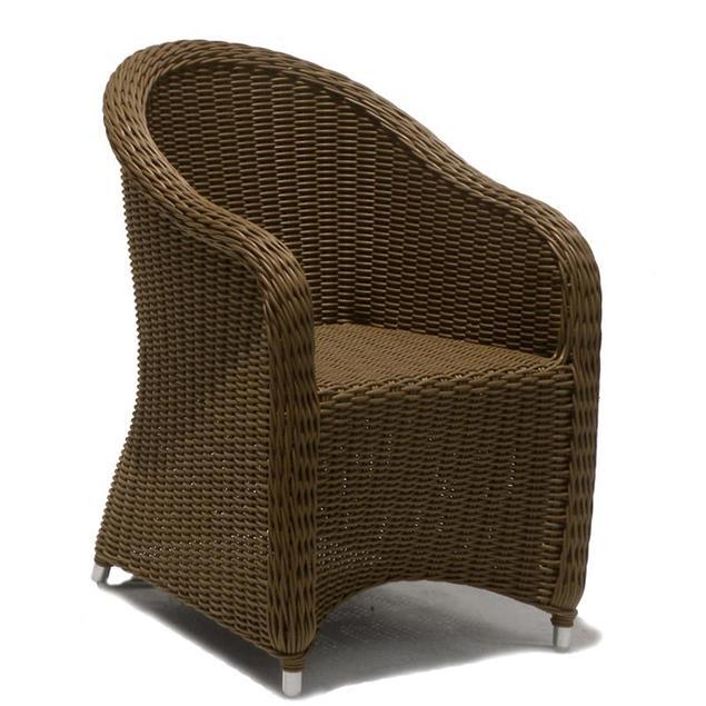 Sitzkissen Kubu Stuhl mit Armlehne Nagata
