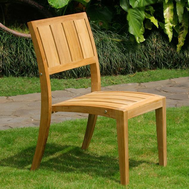 Sitzkissen 45x52 cm für Nivelle Stapelstuhl Nagata