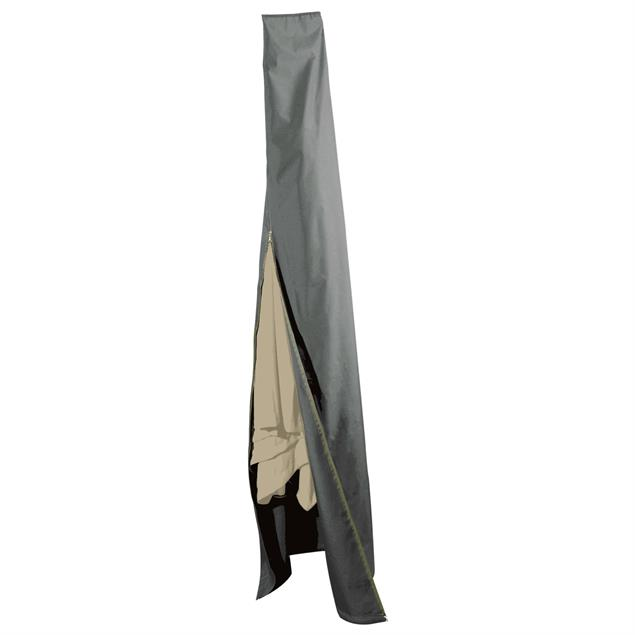 Abdeckung für Sonnenschirm bis 470 cm 238cm (L) x152cm (U) grau